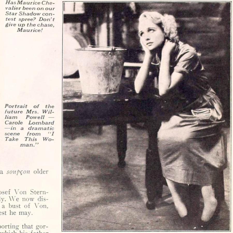 carole lombard screenland august 1931eb