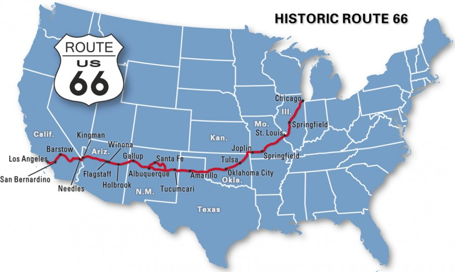 route 66 map 00b