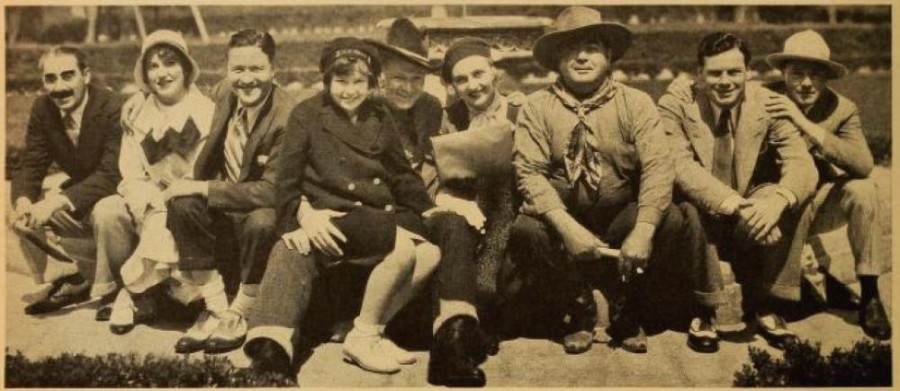 carole lombard motion picture august 1931a group shot