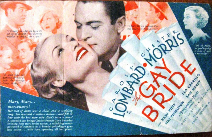 carole lombard the gay bride herald 00a