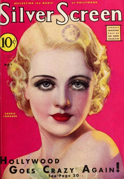 carole lombard silver screen may 1932ca