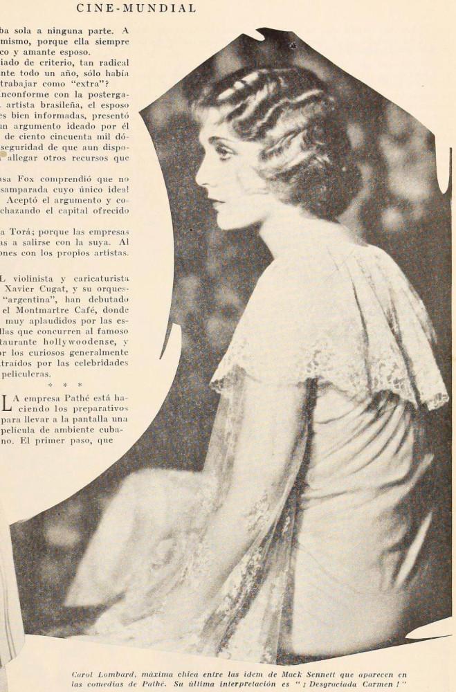 carole lombard cine mundial november 1928cb