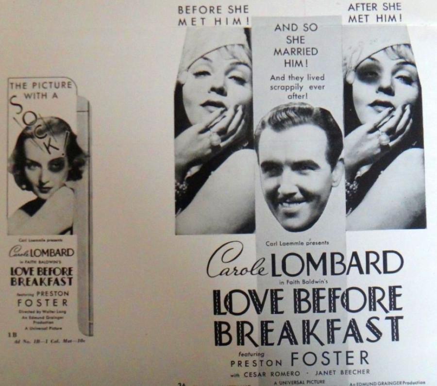 carole lombard love before breakfast press kit 02a
