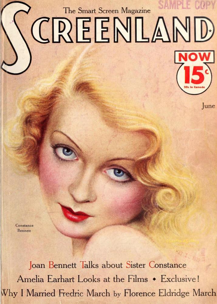 constance bennett screenland june 1933 large