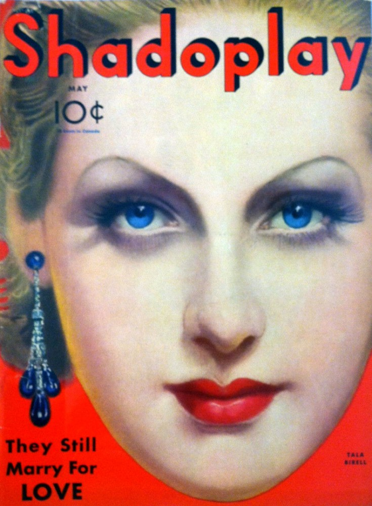 shadoplay may 1933 cover tala birell larger