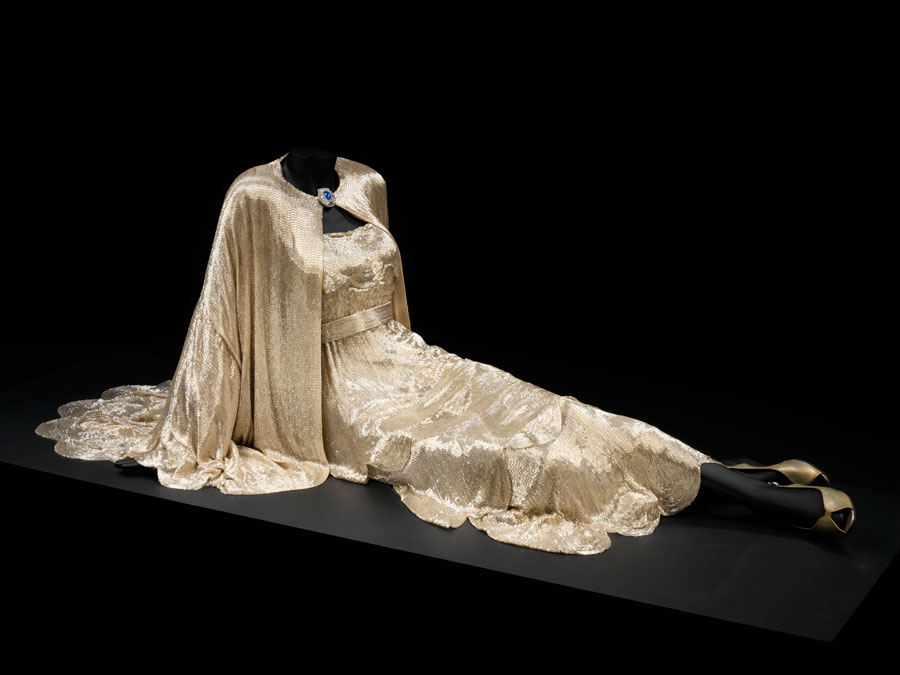 carole lombard my man godfrey gown v&a museum london 00