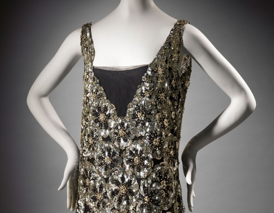 mfa ina claire gown 1926