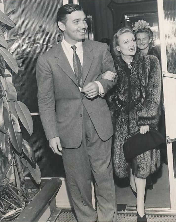 carole lombard clark gable 1941b ciro's front