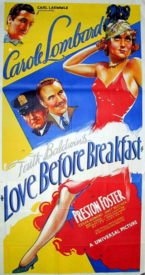 carole lombard love before breakfast poster 05a