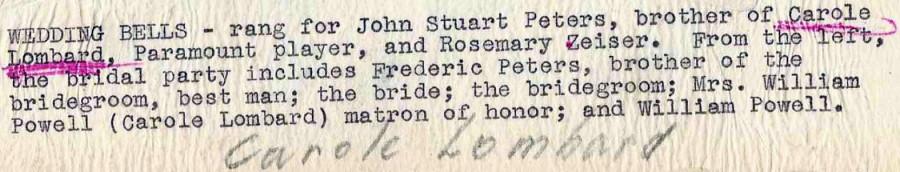 carole lombard william powell stuart peters wedding 00a back