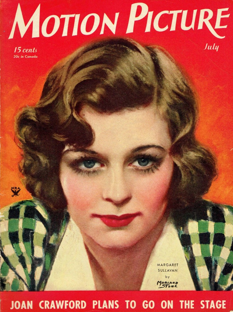 carole lombard motion picture july 1934 cover ebay large