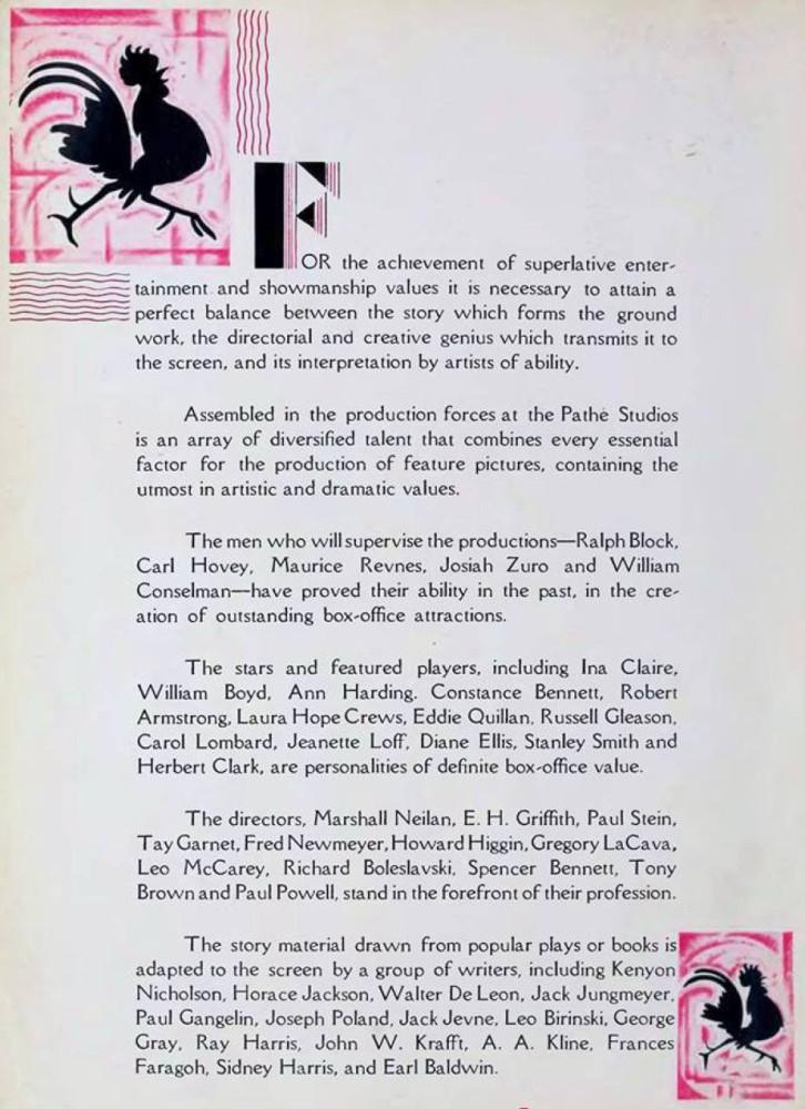 carole lombard pathe 1929-1930 presentation 00a