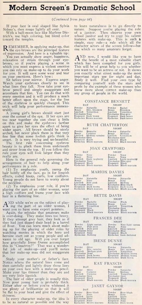 carole lombard modern screen october 1934ia