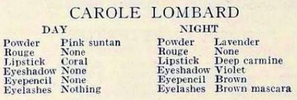 carole lombard modern screen october 1934jb