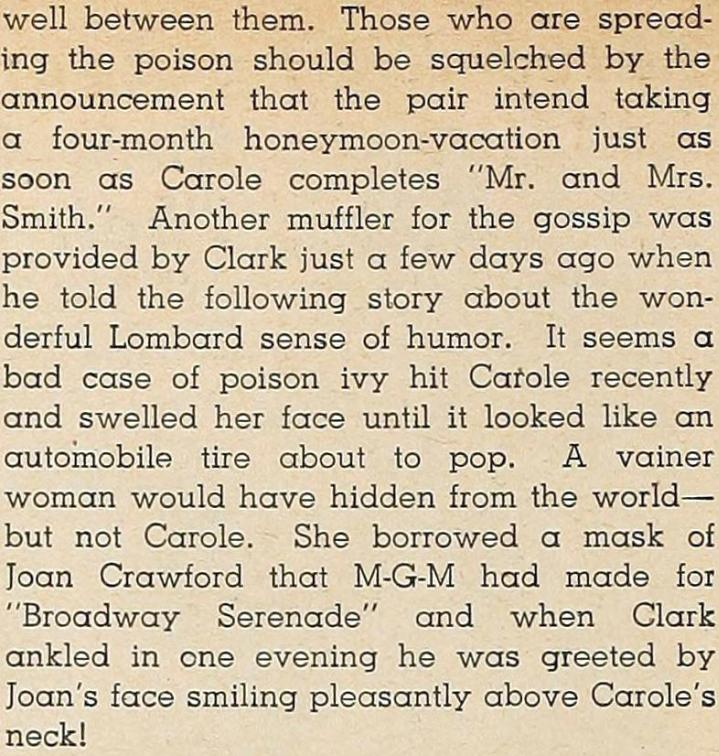 carole lombard modern screen october 1940ha