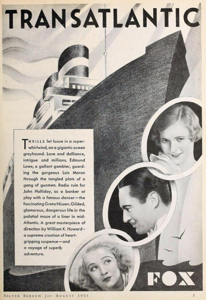silver screen august 1931ca