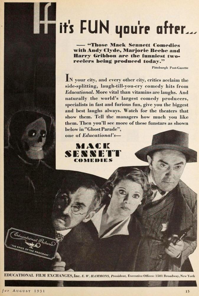 silver screen august 1931ia