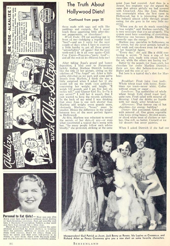 carole lombard screenland september 1937da