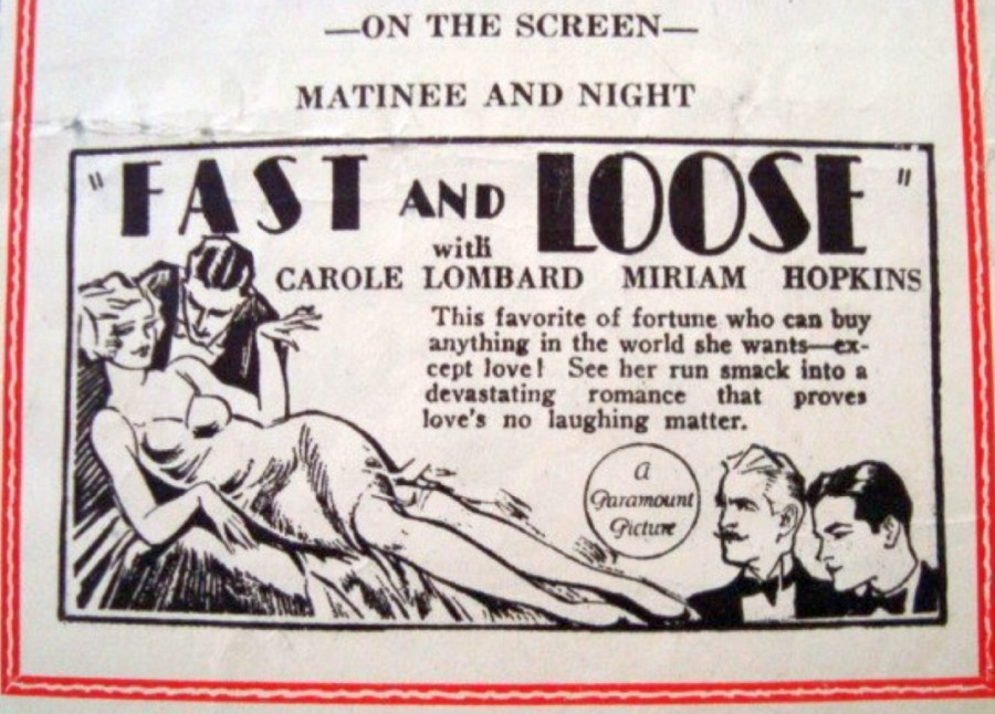 carole lombard fast and loose 012631 west bend theater 03a