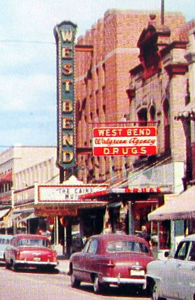 west bend cinema 1954