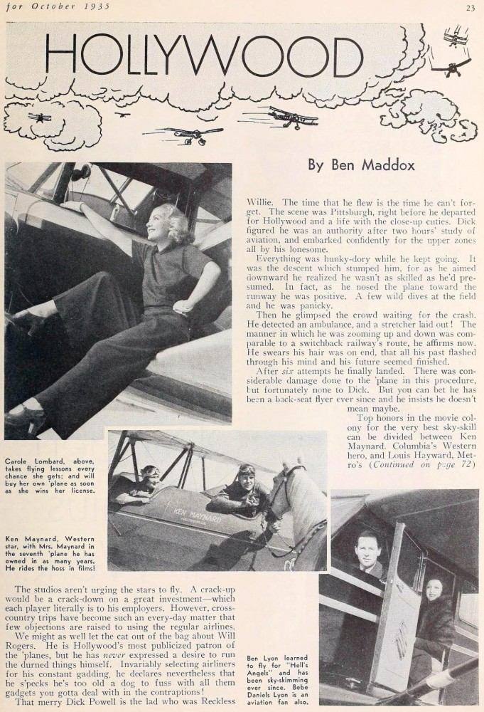 carole lombard screenland october 1935fa