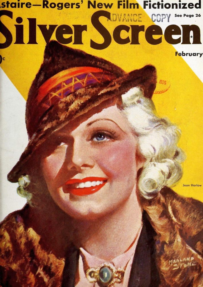 silver screen february 1936 cover large