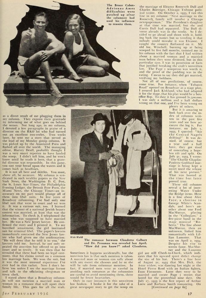 silver screen february 1936ba