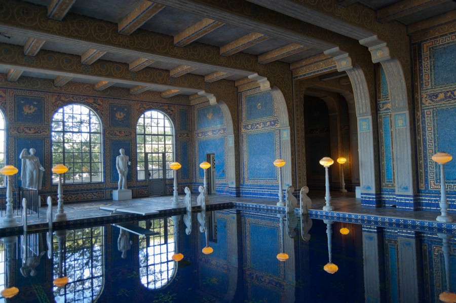 hearst castle roman pool 00