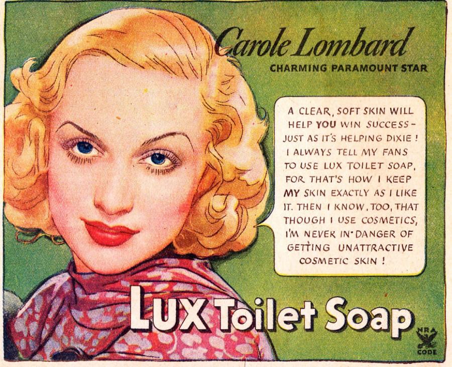 carole lombard lux ad 03ab