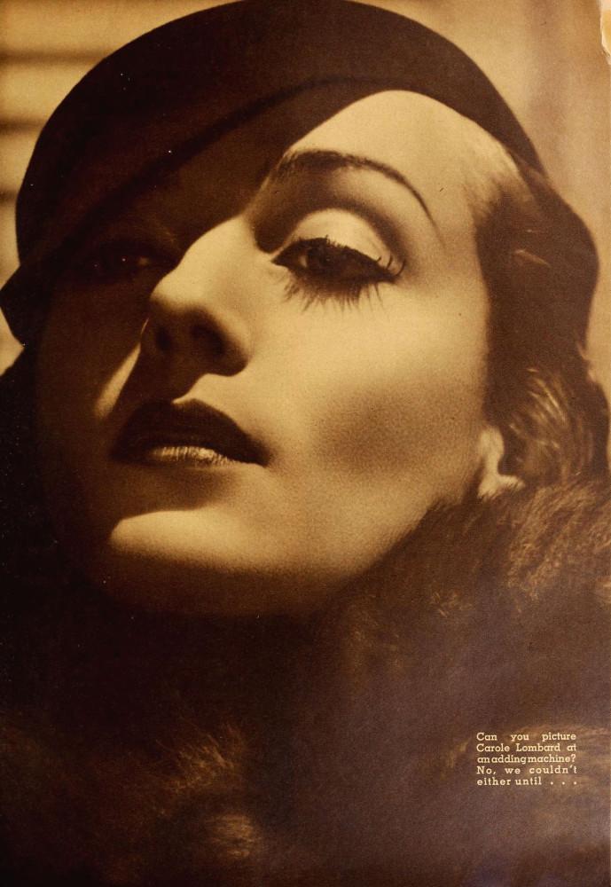 carole lombard modern screen june 1936ba