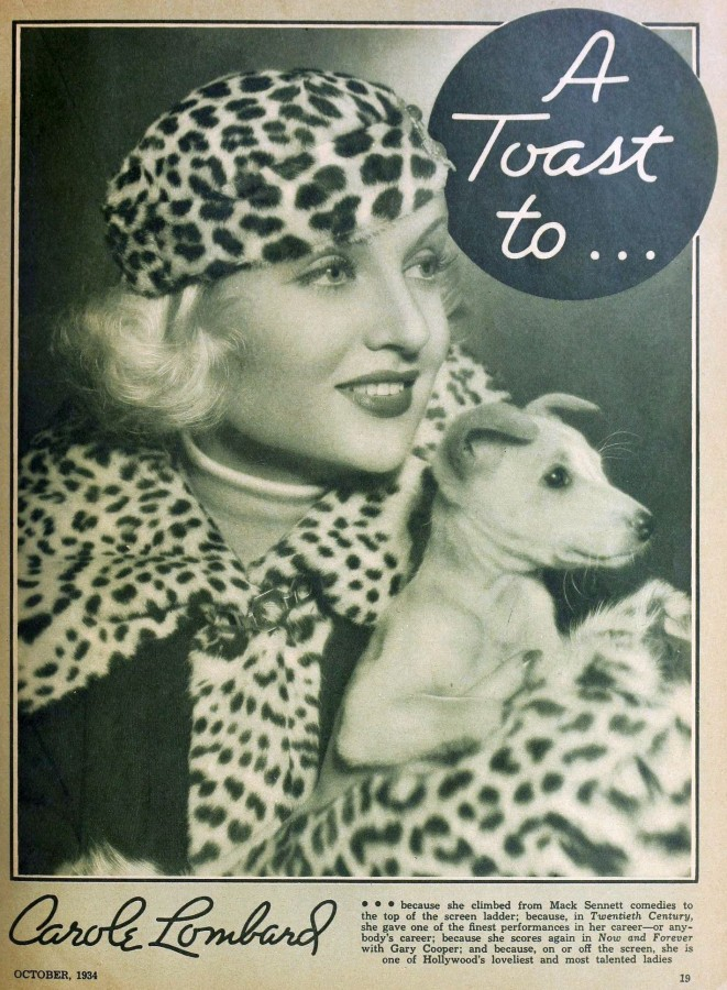 carole lombard hollywood october 1934ab