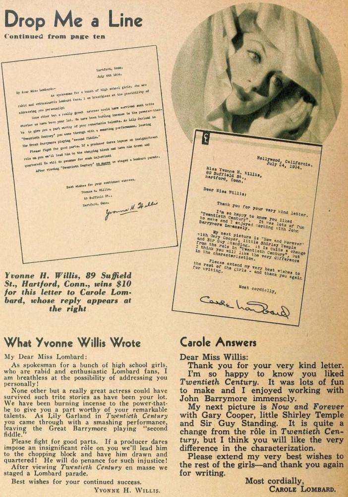 carole lombard hollywood october 1934bc
