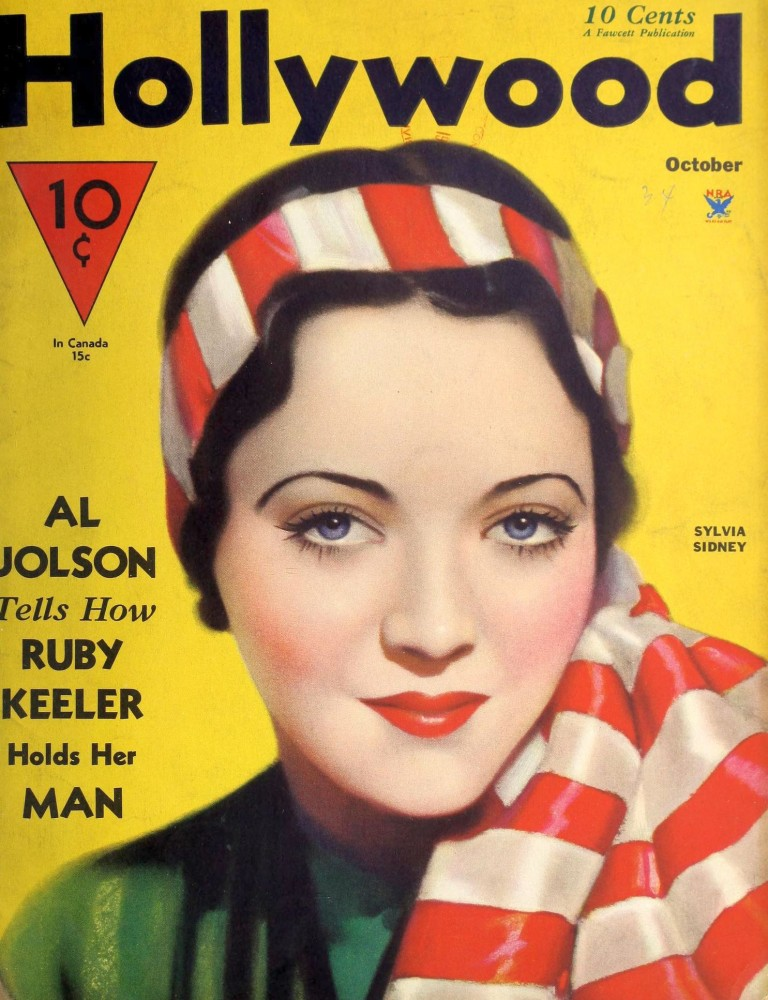 hollywood october 1934 cover largest