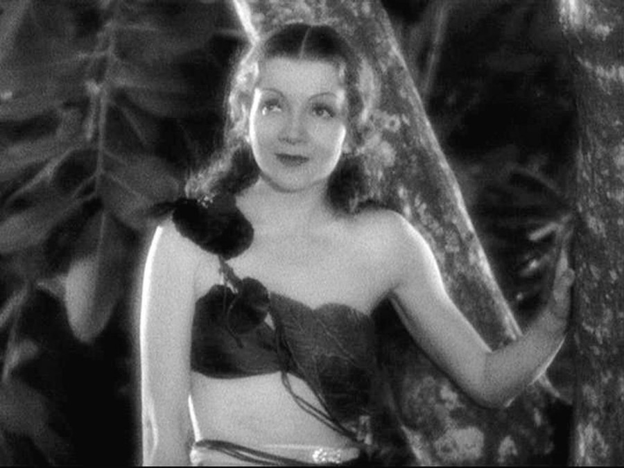 claudette colbert four frightened people 00a