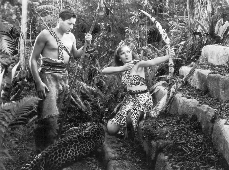 claudette colbert four frightened people 02