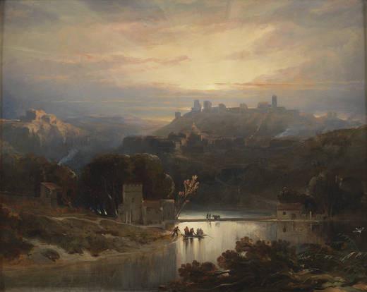 El Castillo de Alcalá de Guadaíra David Roberts