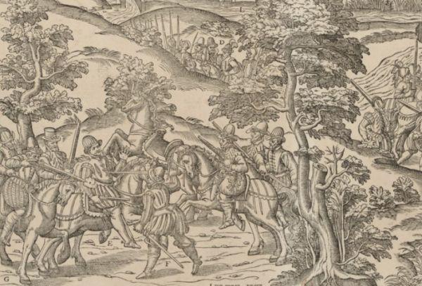 Захват гугенотов близ Амбуаза.