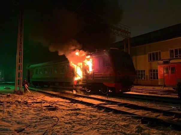 2020 01 12 вагон горит