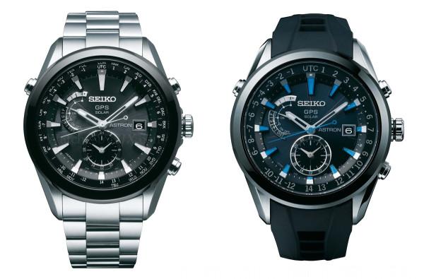 Seiko Astron GPS Solar SAST009 and SAST003
