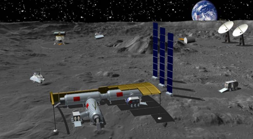 Россия и Китай полетят на Луну вместе?? и когда??