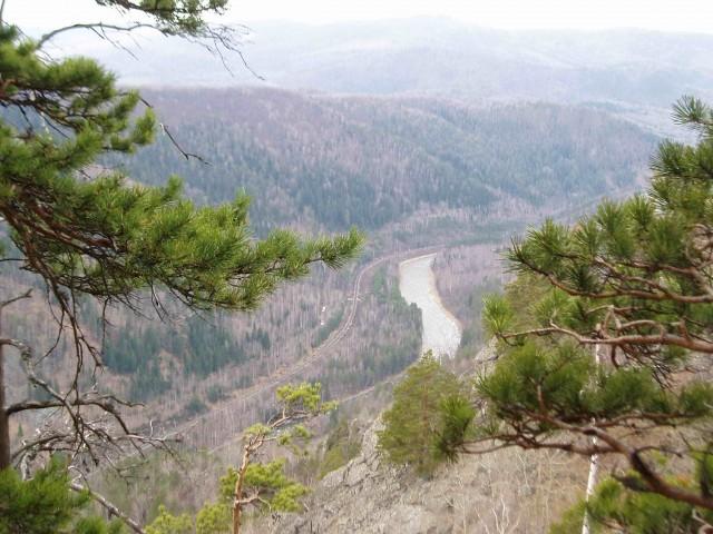 реки Малый Инзер. Здесь,