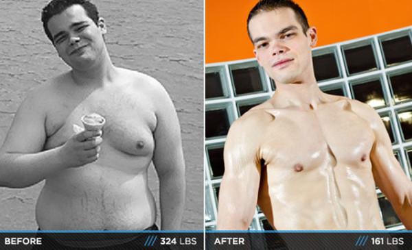 фото мужчины до и после бритья