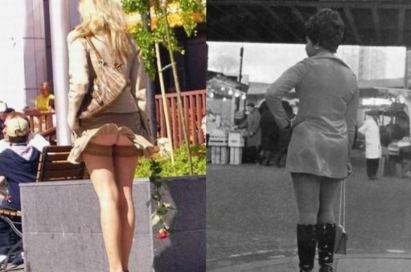 Уженщины поднялась юбка фото 111-648
