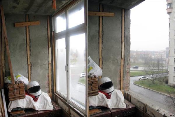 Как из балкона сделать личный кабинет.  ФОТОРЕПОРТАЖ.