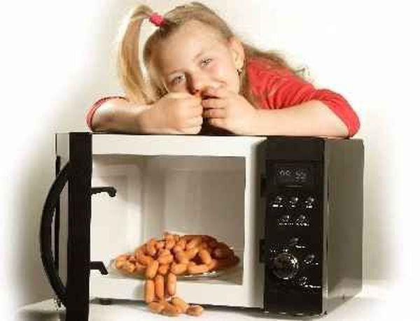 Все особенности пищи из микроволновой печи
