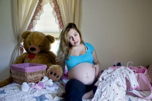 Девушке 26 беременна