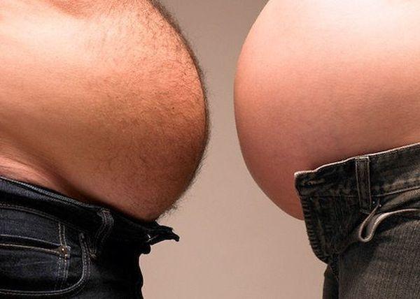 жир на животе у мужчин причины