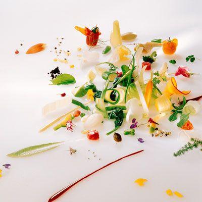 Самые красивые ресторанные блюда мира.