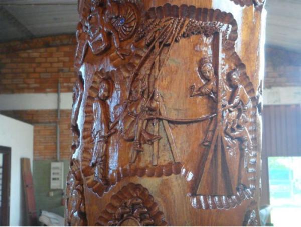 Кровать ручной работы с картинки из Камасутры