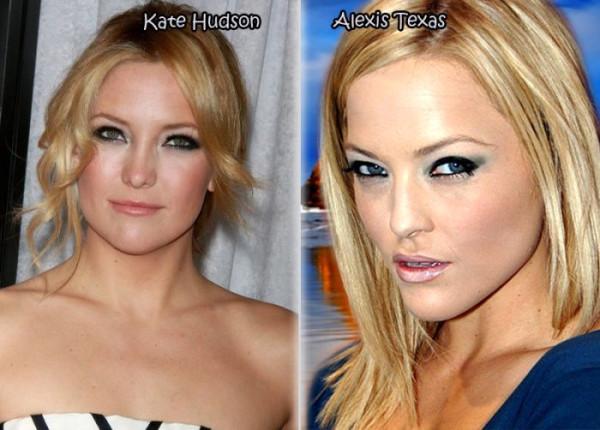 Порно актрисы похожие на голливдскихзвзед